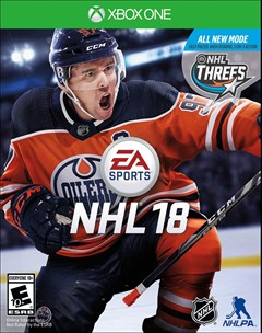 NHL 18 Xbox One Box Art