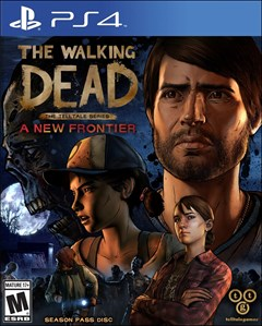 The Walking Dead - The Telltale Series: A New Frontier PlayStation 4 Box Art