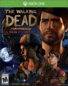 The Walking Dead - The Telltale Series: A New Frontier Xbox One Box Art