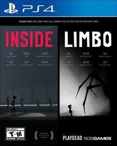 Inside/Limbo PlayStation 4 Box Art