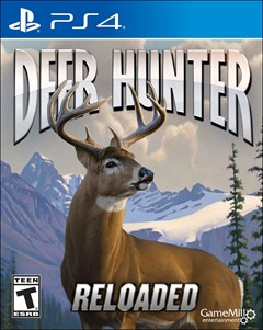 Deer Hunter Reloaded PlayStation 4 Box Art