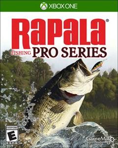 Rapala Fishing Pro Series Xbox One Box Art