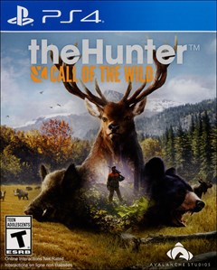 theHunter: Call of the Wild PlayStation 4 Box Art