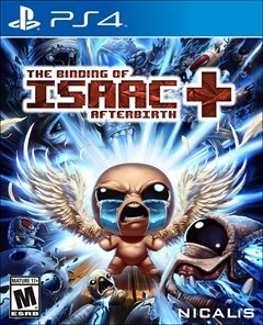 The Binding of Isaac: Afterbirth+ PlayStation 4 Box Art