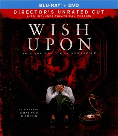 Wish Upon Blu-ray Box Art