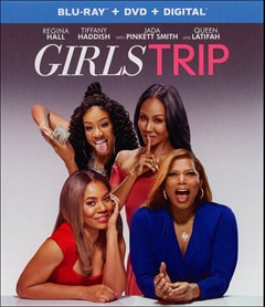 Girls Trip Blu-ray Box Art