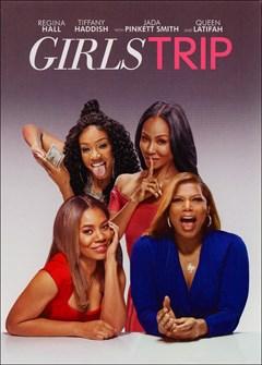 Girls Trip DVD Box Art