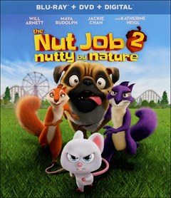 The Nut Job 2: Nutty By Nature Blu-ray Box Art