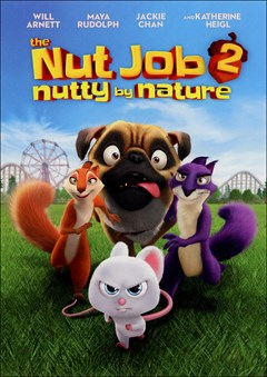 The Nut Job 2: Nutty By Nature DVD Box Art
