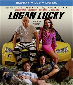 Logan Lucky Blu-ray Box Art