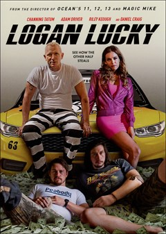 Logan Lucky DVD Box Art