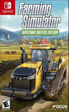 Farming Simulator Nintendo Switch Box Art