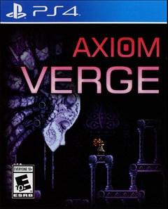 Axiom Verge PlayStation 4 Box Art