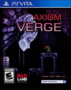 Axiom Verge: Multiverse Edition PlayStation Vita Box Art