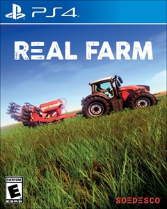 Real Farm PlayStation 4 Box Art