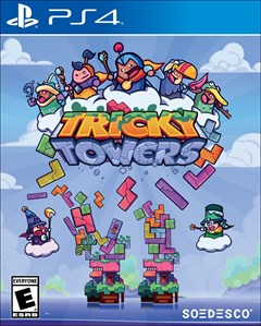 Tricky Towers PlayStation 4 Box Art