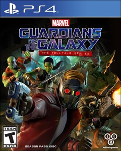 Guardians of the Galaxy: The Telltale Series PlayStation 4 Box Art