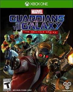 Guardians of the Galaxy: The Telltale Series Xbox One Box Art