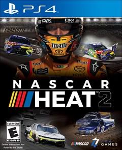 NASCAR Heat 2 PlayStation 4 Box Art