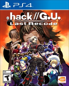 .hack//G.U. Last Recode PlayStation 4 Box Art