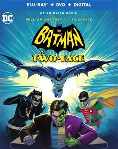 Batman vs. Two-Face Blu-ray Box Art