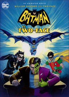 Batman vs. Two-Face DVD Box Art