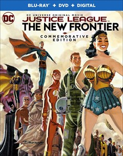 Justice League: The New Frontier - Commemorative Edition Blu-ray Box Art