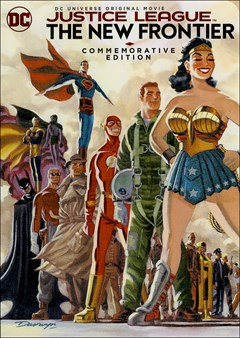 Justice League: The New Frontier - Commemorative Edition DVD Box Art