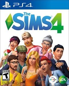 The Sims 4 PlayStation 4 Box Art