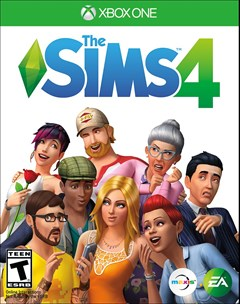 The Sims 4 Xbox One Box Art