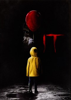 It (2017) DVD Box Art