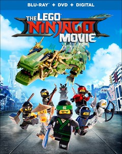 The LEGO Ninjago Movie Blu-ray Box Art