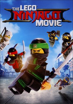 The LEGO Ninjago Movie DVD Box Art