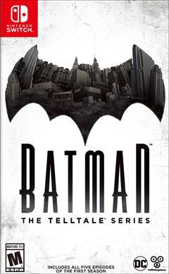 Batman: The Telltale Series Nintendo Switch Box Art