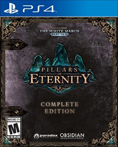 Pillars of Eternity: Complete Edition PlayStation 4 Box Art
