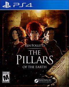 Pillars of the Earth PlayStation 4 Box Art