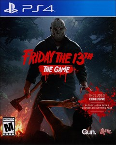 Friday the 13th: The Game PlayStation 4 Box Art