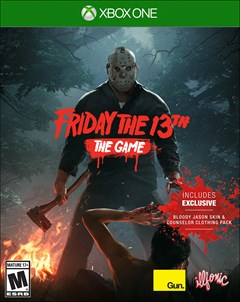 Friday the 13th: The Game Xbox One Box Art
