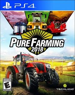 Pure Farming 2018 PlayStation 4 Box Art