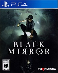 Black Mirror PlayStation 4 Box Art
