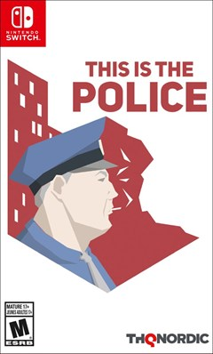 This Is the Police Nintendo Switch Box Art