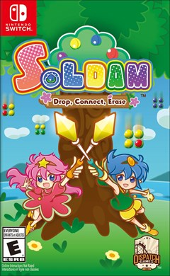 Soldam: Drop, Connect, Erase Nintendo Switch Box Art