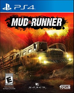Mudrunner: A Spintires Game PlayStation 4 Box Art