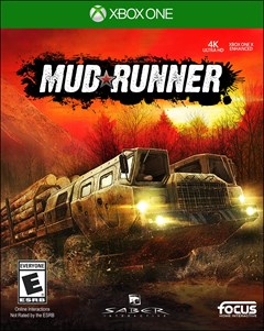 Mudrunner: A Spintires Game Xbox One Box Art