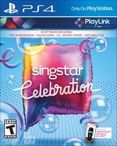 Singstar: Celebration PlayStation 4 Box Art
