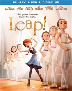 Leap! Blu-ray Box Art