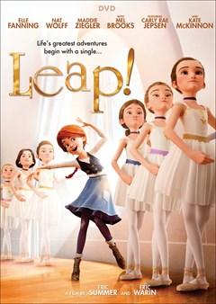 Leap! DVD Box Art
