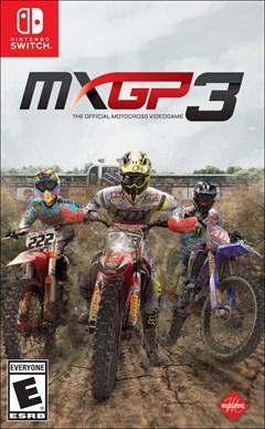 MXGP 3 Nintendo Switch Box Art