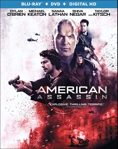 American Assassin Blu-ray Box Art
