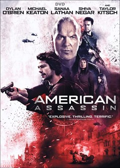 American Assassin DVD Box Art